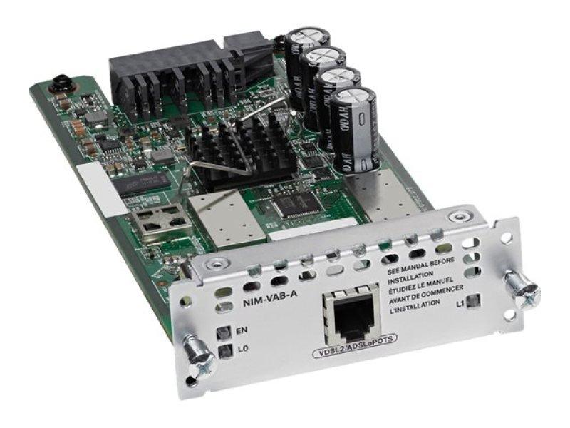 Cisco 1-port VDSL2/ADSL2+ over POTS with Annex A DSL modem