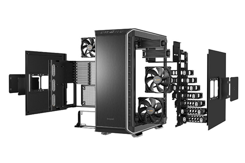 Be Quiet Dark Base 900 Silver ATX Case
