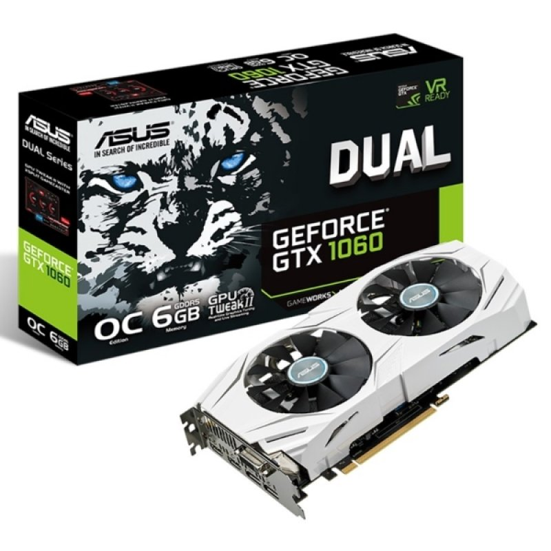 Asus GTX 1060 6GB DUAL OC Graphics Card