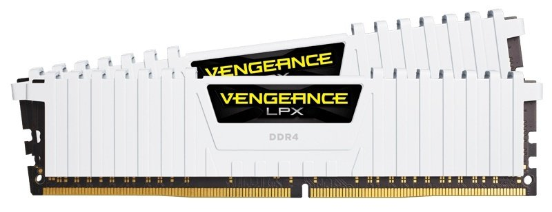 Corsair Vengeance LPX 32GB (4x8GB) DDR4 DRAM 2666MHz C16 Memory Kit - White