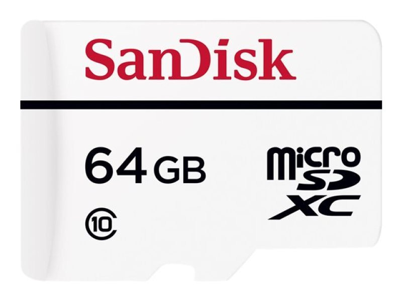 Sandisk Video Monitoring 64GB microSDXC + Adapter