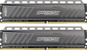 Crucial Ballistix Tactical 8GB DDR4-2666 UDIMM Memory Kit BLT2C8G4D26AFTA