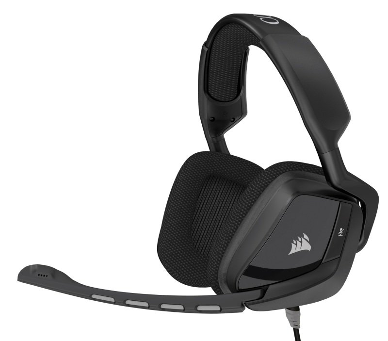 Corsair Gaming VOID Surround Carbon Hybrid Stereo Gaming Headset