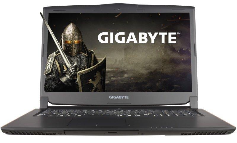 Gigabyte P57X V6CF2 Gaming Laptop Intel Core i76700HQ 2.6GHz 16GB RAM 256GB SSD 1TB HDD 17.3&quot LED DVDRW NVIDIA GTX 1070 WIFI Bluetooth Webcam Windows 10 Home 64bit