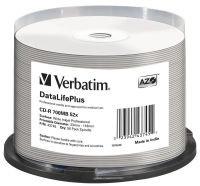 Verbatim CD-R 52x DataLifePlus Inkjet Professional 50pk Spindle