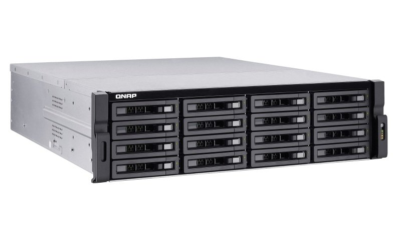 QNAP TS-EC1680U-E3-4GE-R2 64TB (16 x 4TB WD RED PRO) 16 Bay with 4GB RAM