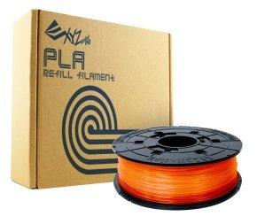 Xyz Pla Filament 1.75mm Clear Tangerine