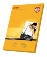 "Kodak Ultra Premium Photo Gloss 280g 5* 5 x 7"" Paper - 20 sheets"