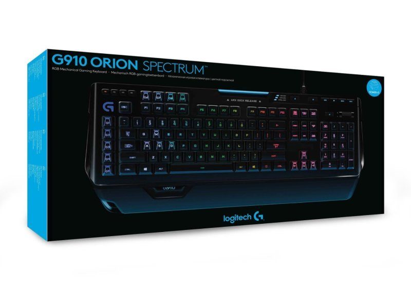 Logitech G910 Orion Spectrum - RGB Mechanical Gaming