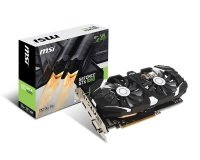 MSI GeForce GTX 1060 3GT OC 3GB GDDR5 Graphics Card