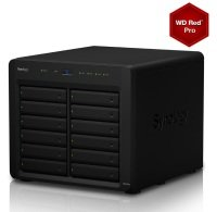 Synology DS3615XS 96TB (12 x 8TB WD RED PRO) 12 Bay Desktop NAS