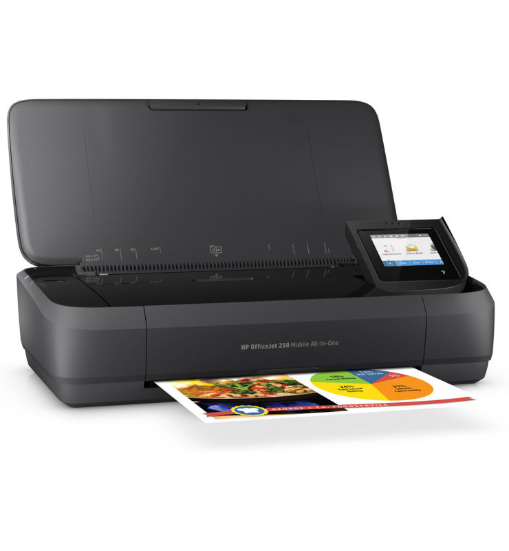HP Officejet 250 Mobile A4 MultiFunction Wireless Inkjet Printer
