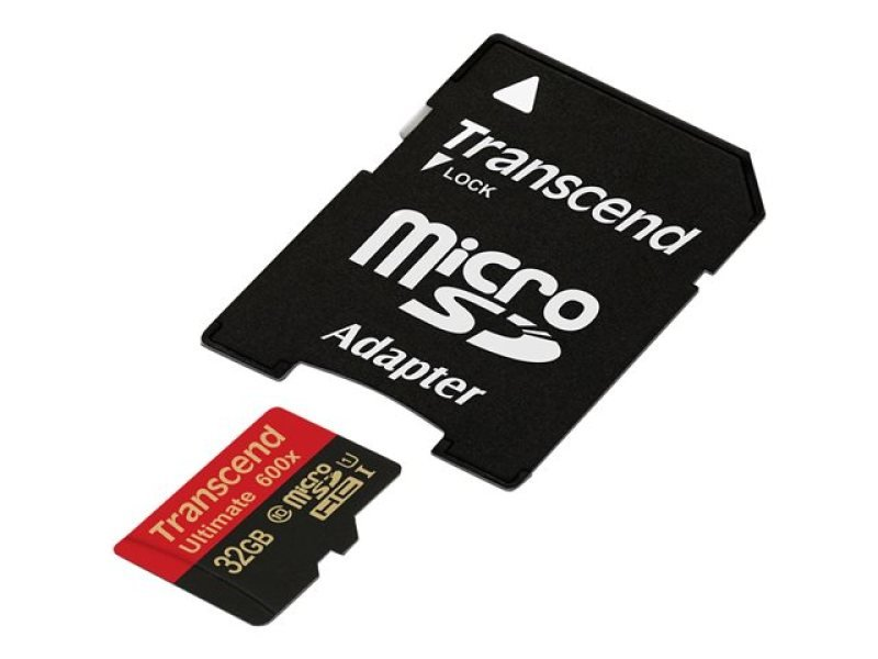 Transcend Ultimate series 32GB SDHC Flash memory card