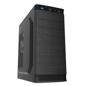 CIT F4 1 x USB3 1 x USB2 1 x 9 cm Rear Fan Midi Tower Case (NO PSU)