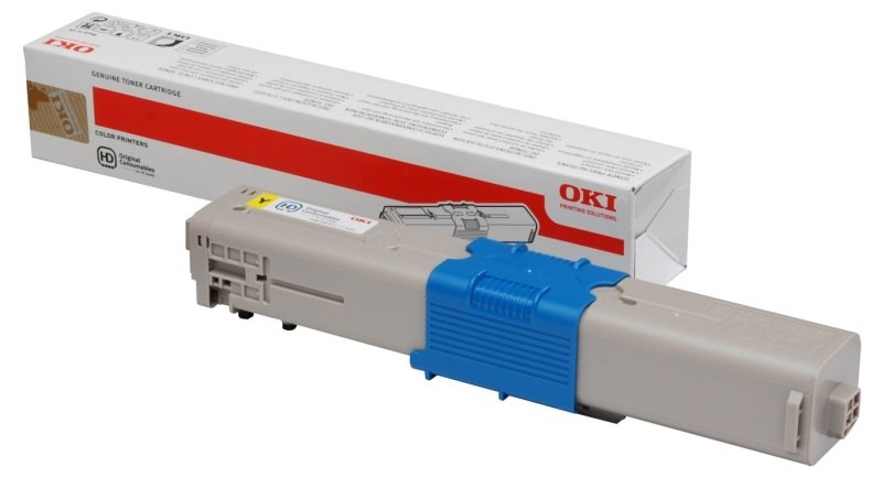 OKI C301/C321 Yellow Toner Cartridge