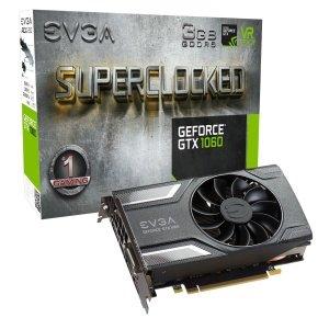 EVGA GeForce GTX 1060 SC Gaming 3GB GDDR5 Graphics Card