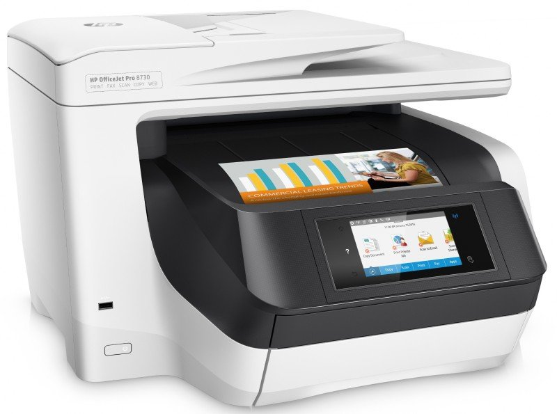 HP Officejet Pro 8730 All-in-One WirelessMulti-Function...