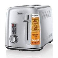 Toaster Polished Stainless Steel 2 Slice 850w 1 Year Warranty