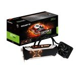 Gigabyte GeForce GTX 1080 Xtreme Waterforce 8GB GDDR5X Dual-link DVI-D HDMI DisplayPort PCI-E Graphics Card