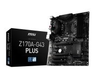 MSI Z170A-G43 PLUS Socket LGA1151 DVI-D HDMI 7.1-Channel HD Audio ATX Motherboard