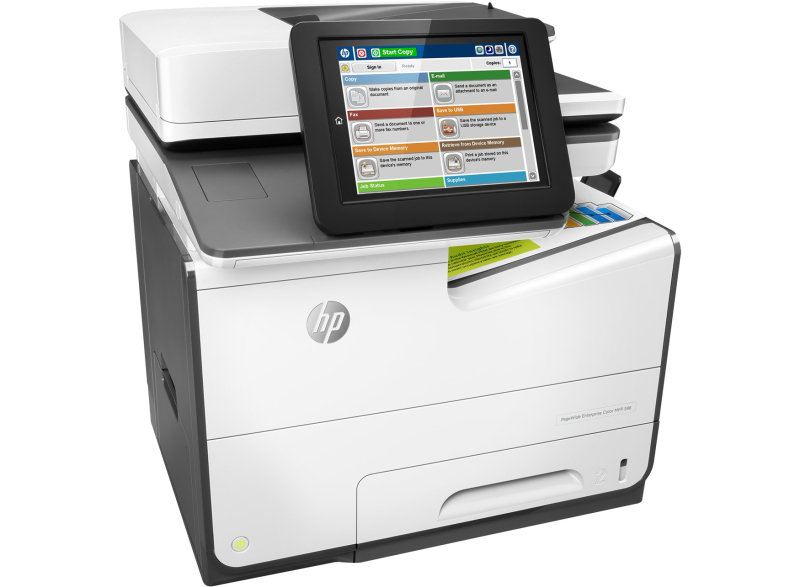 HP Pagewide 586f Enterprise Colour Multi-Function Inkjet Printer...
