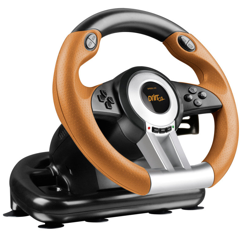 SPEEDLINK Drift O.Z. Racing Wheel with Pedals and Gear Stick for PC