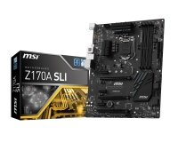 MSI Z170A SLI Socket LGA1151 7.1-Channel HD Audio ATX Motherboard