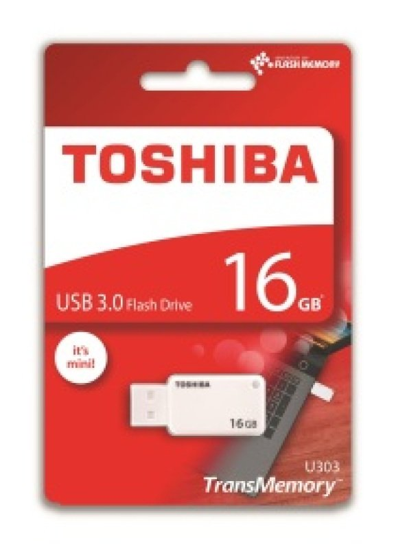 Toshiba 16GB TransMemory U303 USB 3.0 Flash Drive