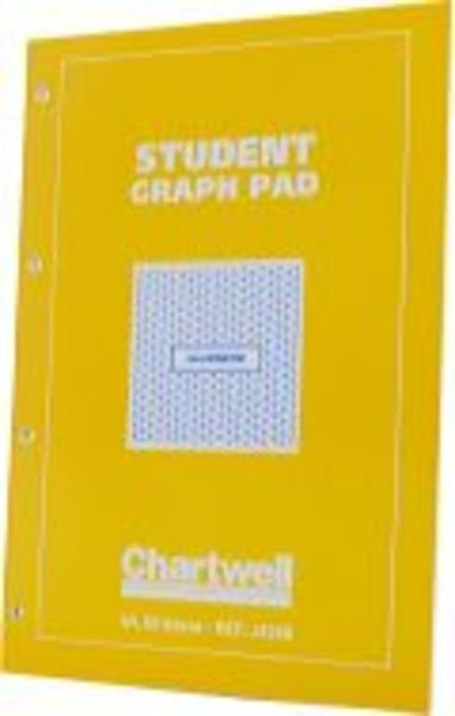 EXDISPLAY Chartwell Graph Pad A4 5mm Yellow/blue - 10 Pack
