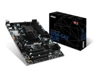 MSI 970A-G43 PLUS Socket AM3/ AM3+ 7.1-Channel HD Audio ATX Motherboard