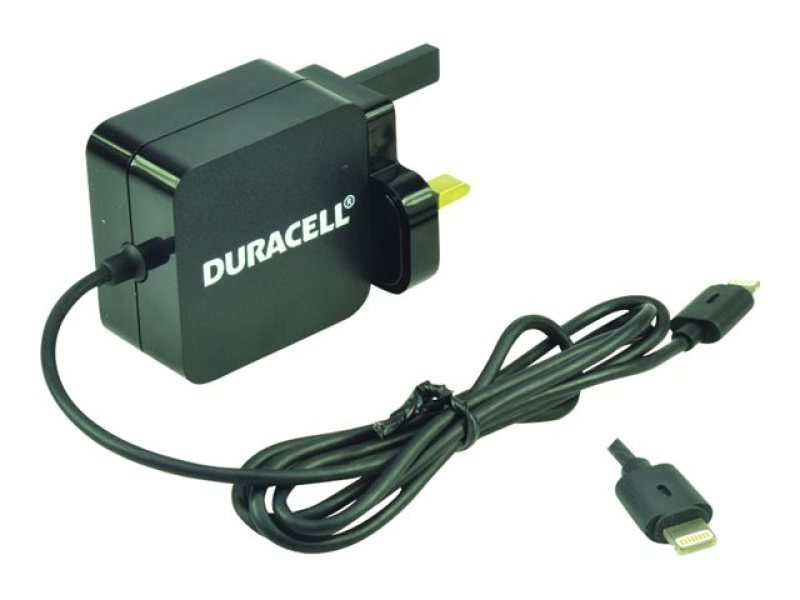 Duracell Apple Lightning 2.4 Amp - Iphone And Ipad Mains Charger