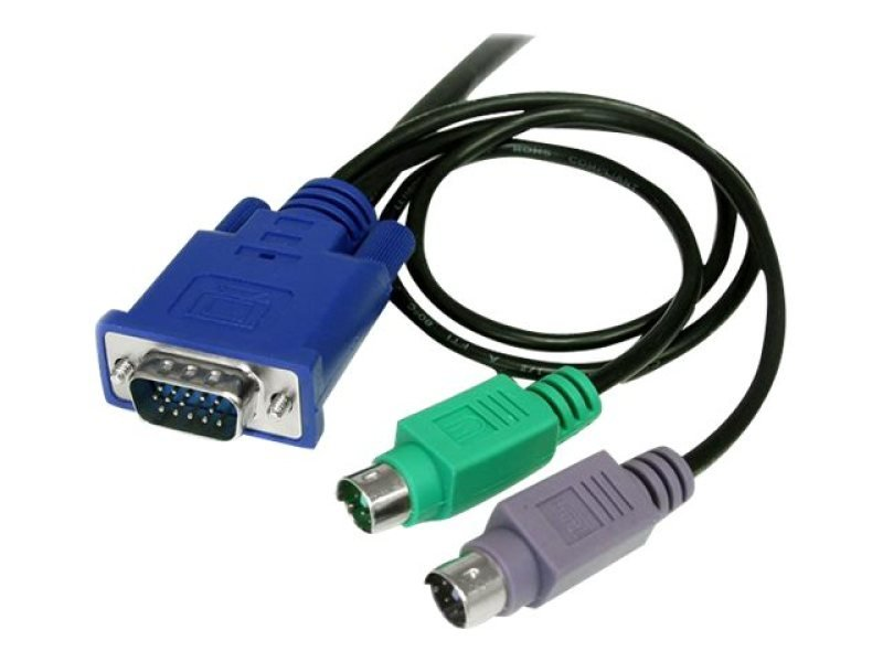 Startech 3-in-1 KVM Cable 6Ft