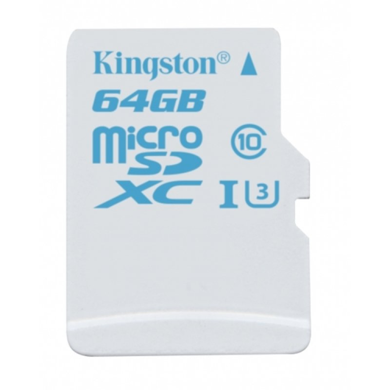 Kingston 64GB microSDXC UHS-I Flash memory card
