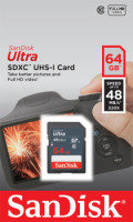 SanDisk 64GB Ultra SDXC Memory Card