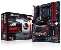 EXDISPLAY Gigabyte GA-990X-GAMING SLI Socket AM3+ 7.1 Channel ATX Motherboard