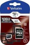 Verbatim Premium 128GB microSDHC Memory Card