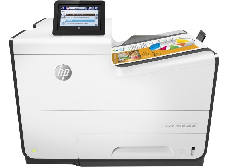 HP PageWide 556dn Enterprise Colour Inkjet Printer