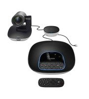 Logitech GROUP videoconferencing system for medium to large meeting rooms