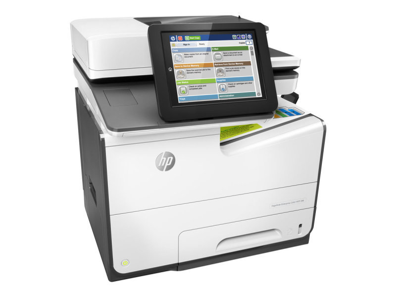 HP PageWide 586dn Enterprise Colour Multi-Function Inkjet Printer...