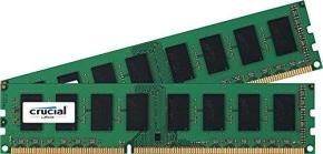 Crucial 8GB Kit (2x4GB) DDR3 1600 MHz DIMM Desktop Memory