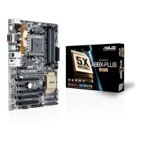 Asus A88X-PLUS/USB 3.1 Socket FM2+ VGA DVI HDMI 8-Channel HD Audio ATX Motherboard