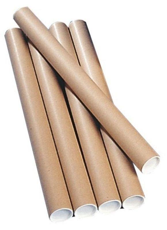 Brown Kraft Postal Tube 1140x102mm Pack of 12