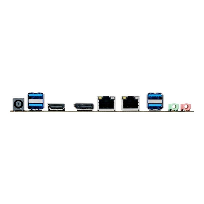 Asus Q170T Socket LGA1151 HDMI DisplayPort 8-Channel HD Audio Thin Mini ITX Motherboard