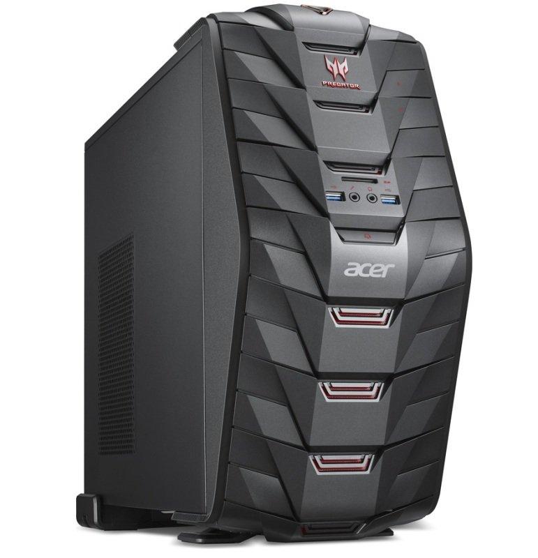 Acer Predator G3710 Gaming PC Intel Core i56400 2.7GHz 8GB RAM 1TB HDD 128GB SSD BluRay Writer NVIDIA GTX 950 WIFI Windows 10 64bit