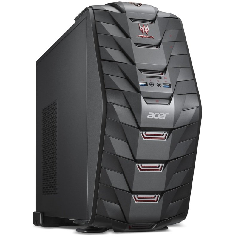 Acer Predator G3710 Gaming PC Intel Core i56400 2.7GHz 8GB RAM 2TB HDD 128GB SSD DVD Writer AMD R9 360 WIFI Windows 10 64bit
