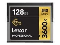 Lexar Professional 128GB CompactFlash memory card
