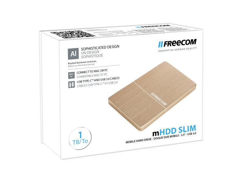 "Freecom 1TB 2.5&""; USB 3.0 Slim Mobile Hard Drive"