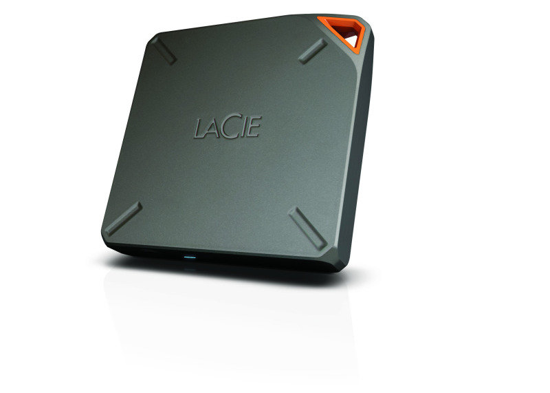 LaCie Fuel 2TB Portable Wireless External Hard Drive for Mobile Devices