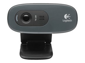 Logitech C270 960-001063 HD Webcam - Black
