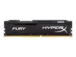 HyperX Fury 8GB 2400MHz DDR4 CL15 DIMM  Black Memory